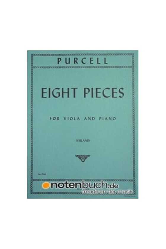 Purcell, 8 Pieces For Viola...