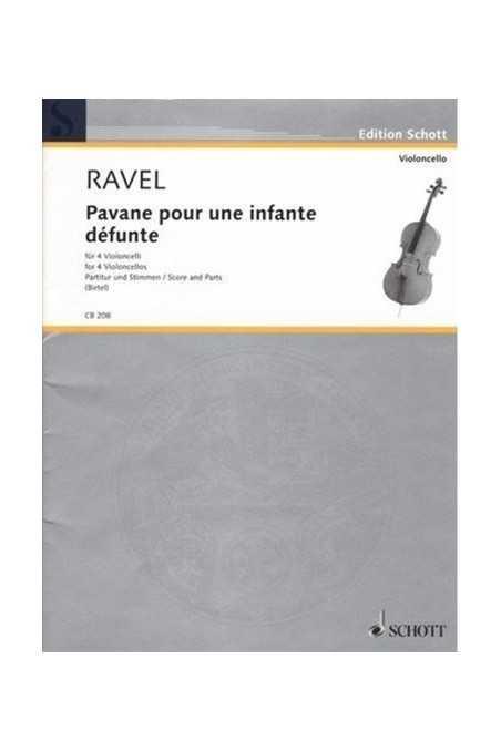Ravel, Pavane Pour Une Infant Defunte For Viola Or Cello (Schott)