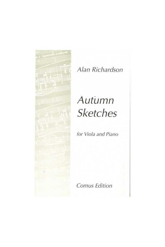 Richardson, Autumn Sketches...