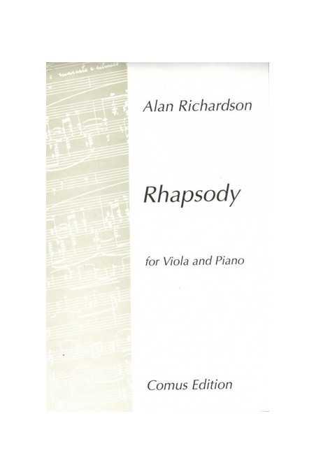 Richardson, Rhapsody For Viola And Piano (Comus)
