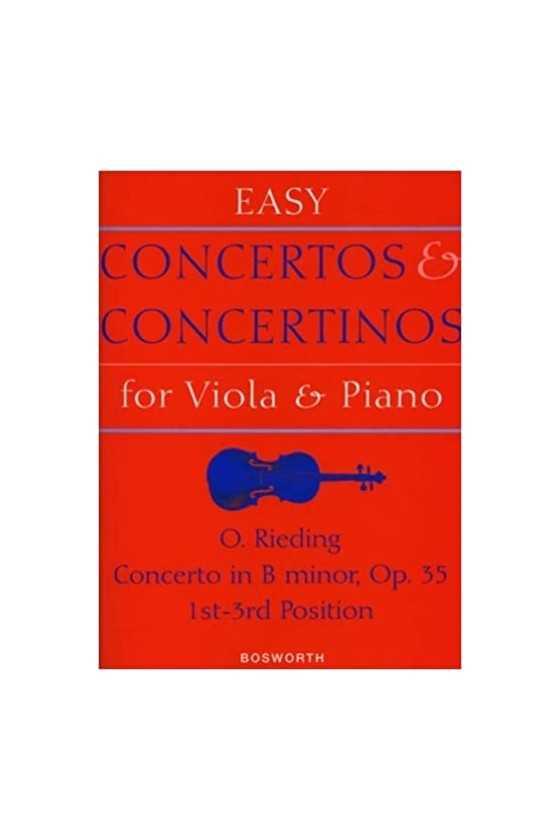 Rieding, Concerto In B...