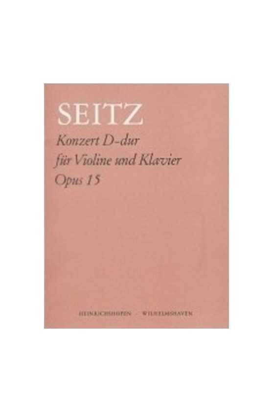 Seitz Concerto In D Op 15...
