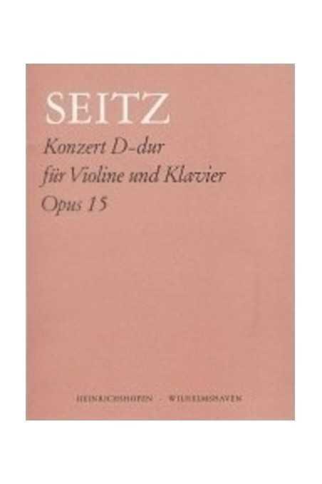 Seitz Concerto In D Op 15 For Violin (Fischer)