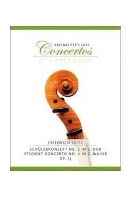 Seitz, Student Concerto G Major OP13 For Violin ( Barenreiter ED)