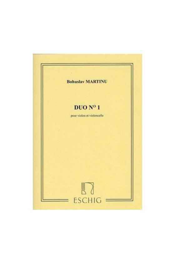 Martinu, Duo No.1 For...
