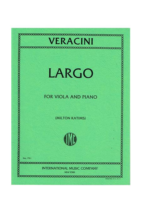 Veracini, Largo for Viola (IMC)