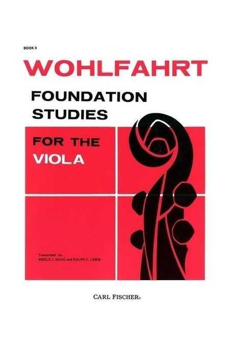 Wohlfahrt, Foundation Studies for Viola Bk 2 (Fischer)