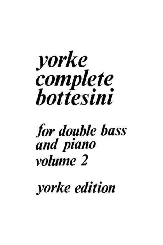 Bottesini for Double Bass...