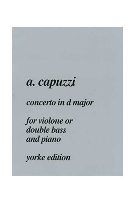 Capuzzi, Concerto In D For Double Bass (Yorke)
