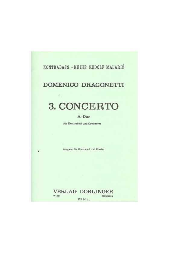 Dragonetti 3 Concerto A...