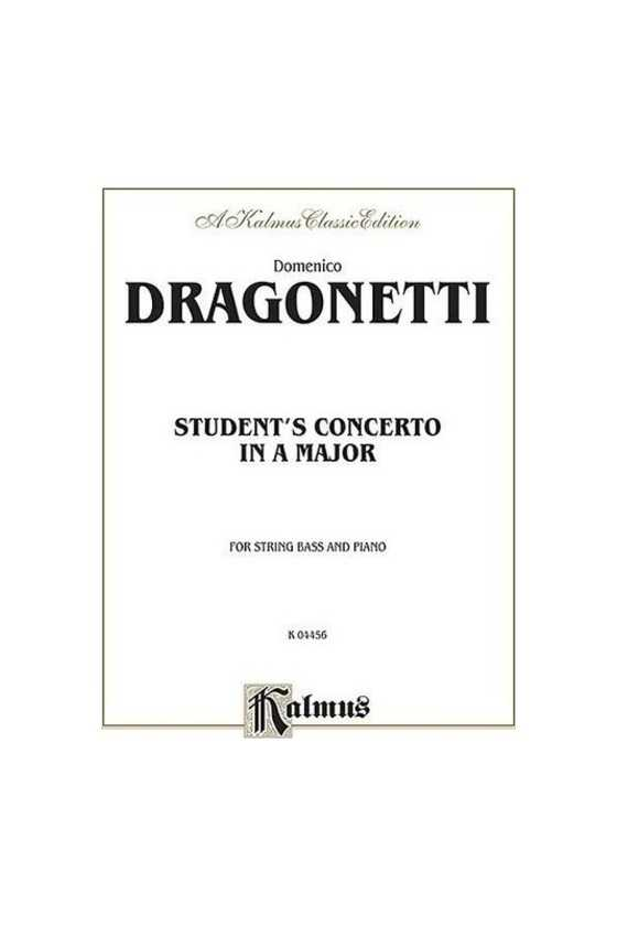 Dragonetti, Student's...