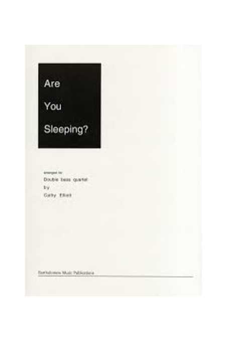 Are You Sleeping? - Double Bass Quartett By Catherine Elliott