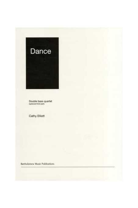 Dance - Double Bass Quartett By Catherine Elliott