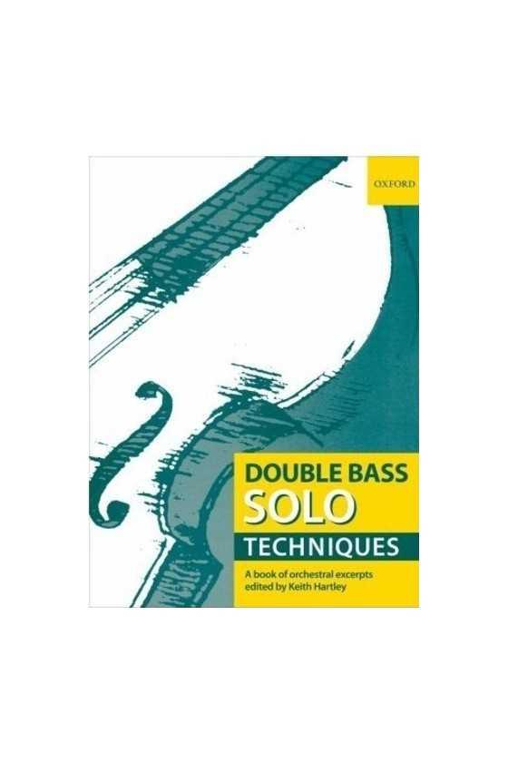 Double Bass Solo Techniques...