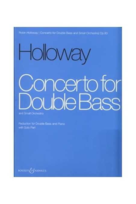 Holloway, Concerto For Double Bass
