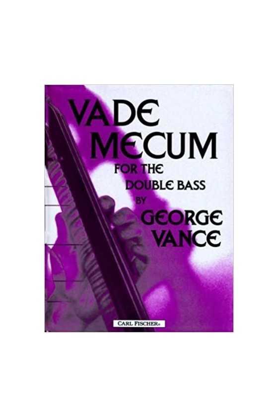 George Vance, Vade Mecum...