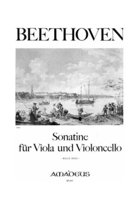 Beethoven Sonatine For Viola And Cello (Amadeus)