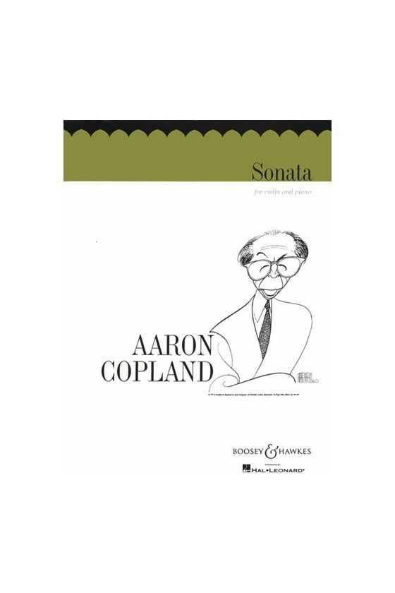 Copland, Sonata For Violin...