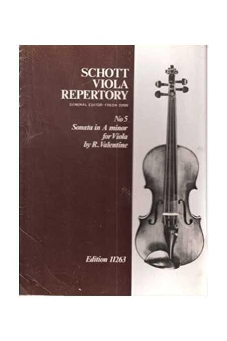 Schott Viola Repertory Book 1