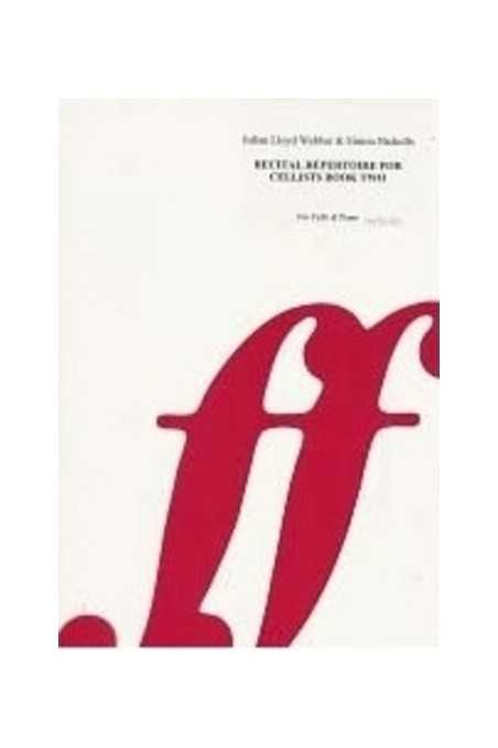 J. Lloyd Webber Recital Repertoire for Cellists Vl 2