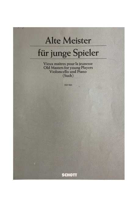 Old Masters for Young Players for Cello (Schott)
