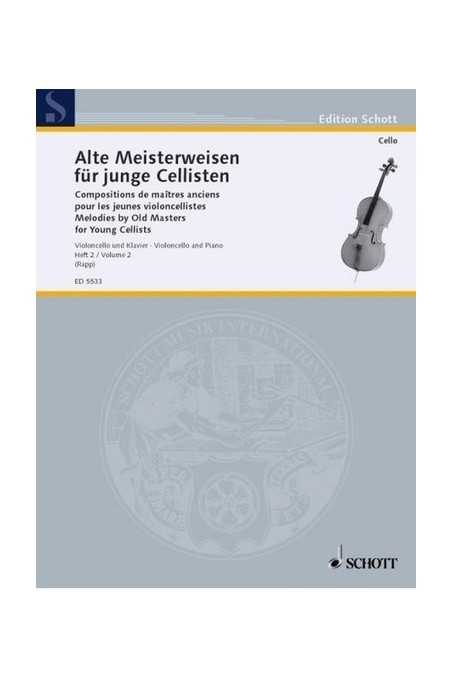 Melodies by Old Masters for Cello Book 2