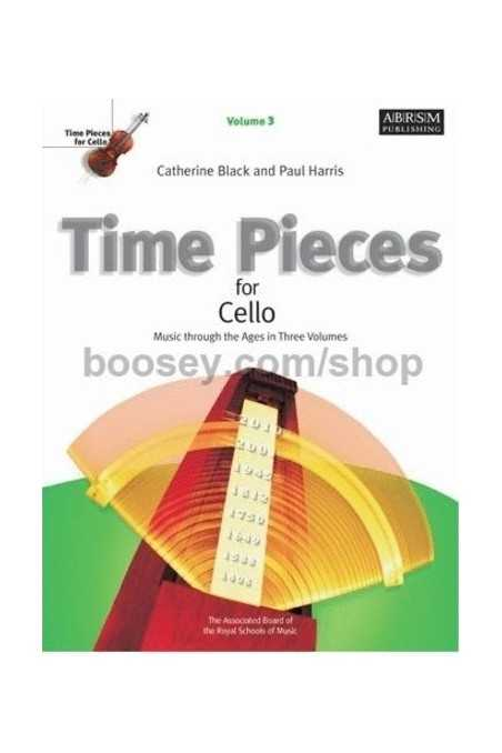 Time Pieces for Cello Vl 3 (ABRSM)