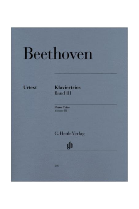 Beethoven, Piano Trios Vl 2 (Henle)