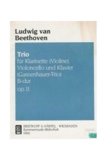 Beethoven, Trio Op. 11