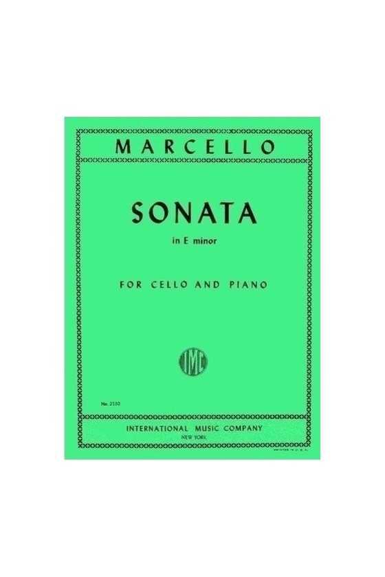 Marcello, Sonata in E minor...