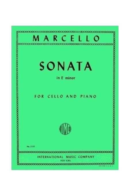 Marcello, Sonata In E Minor For Cello And Piano (IMC)