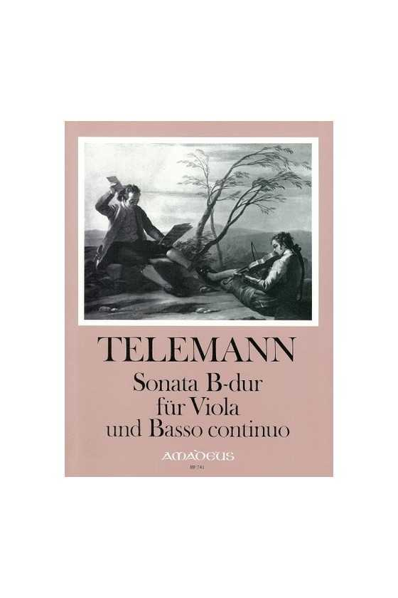 Telemann, Sonata In B Major...