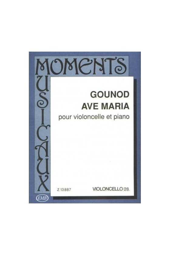 Gounod, Ave Maria for Cello...