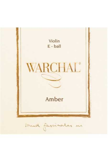 Warchal, Amber E String For 4/4 Size Violin (Ball End)