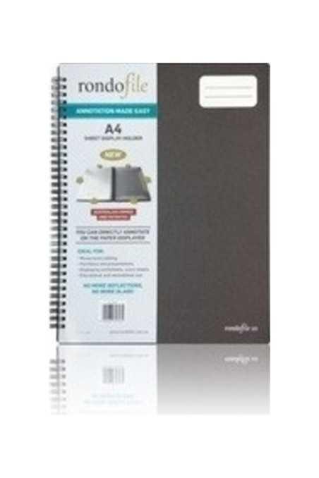 Rondofile Music Display Folder- 20 Page