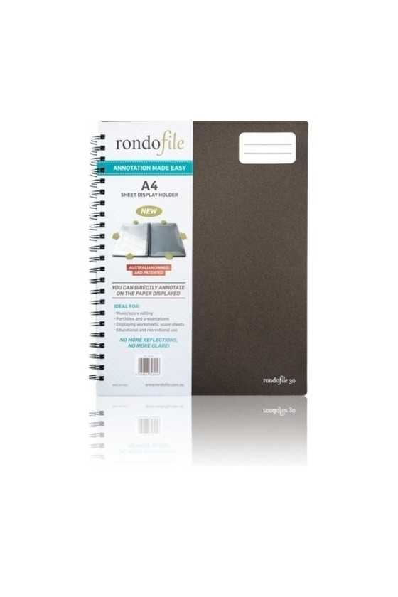 Rondofile Music Display Folder- 30 Page