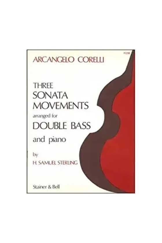 Corelli, Three Sonata...