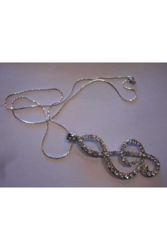 Animato Treble Clef Pendant...