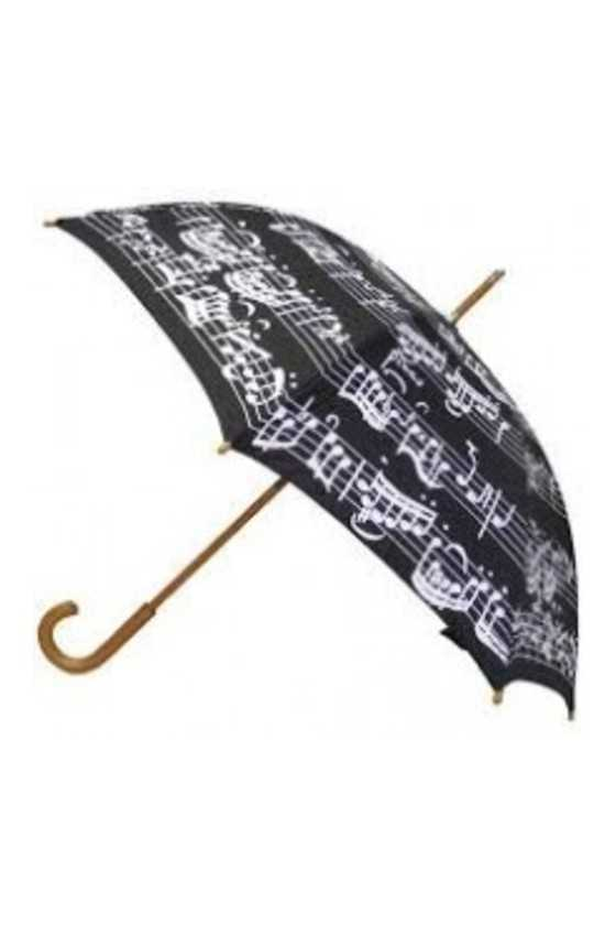 Black Umbrella with a...