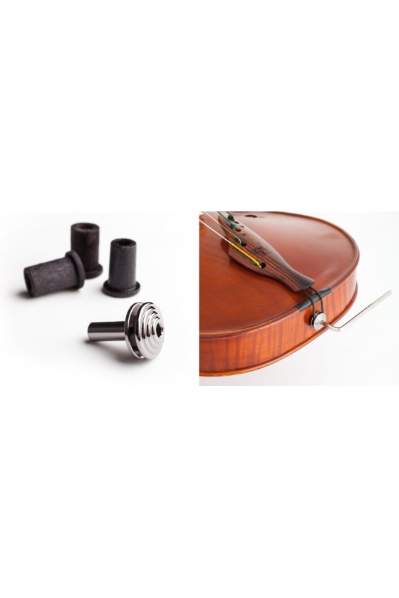 ZMT endpin for violin or viola