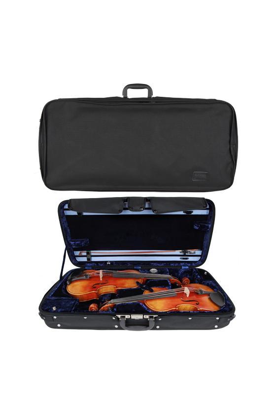 GEWA Double Case For 1 Violin And 1 Viola Liuteria Concerto