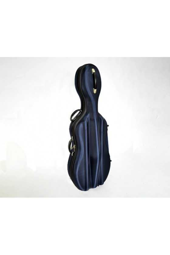 HQ Hard Cello Case with Wheels