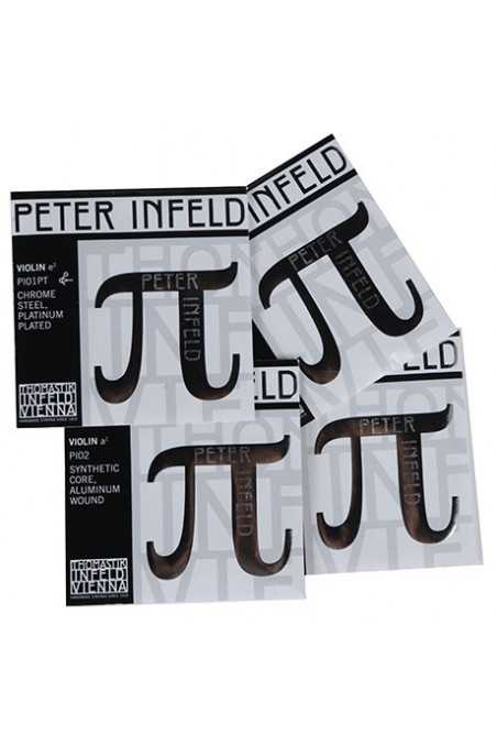 Peter Infeld Violin String Set with Platinum-Plated E