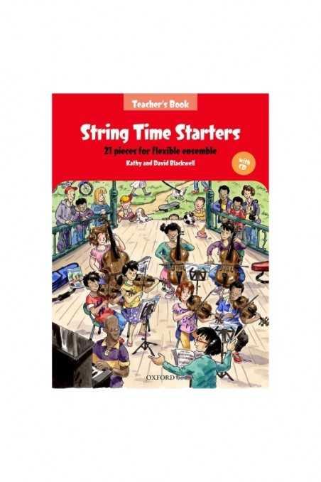 Blackwell, String Time Starters (Teachers Book)