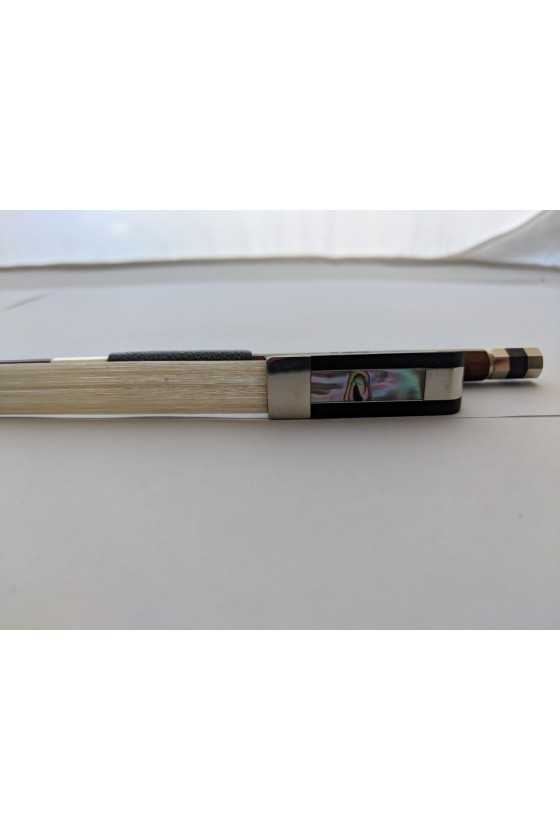 W. Doerfler Cello Bow 10 Brazil Wood - Nickel Silver