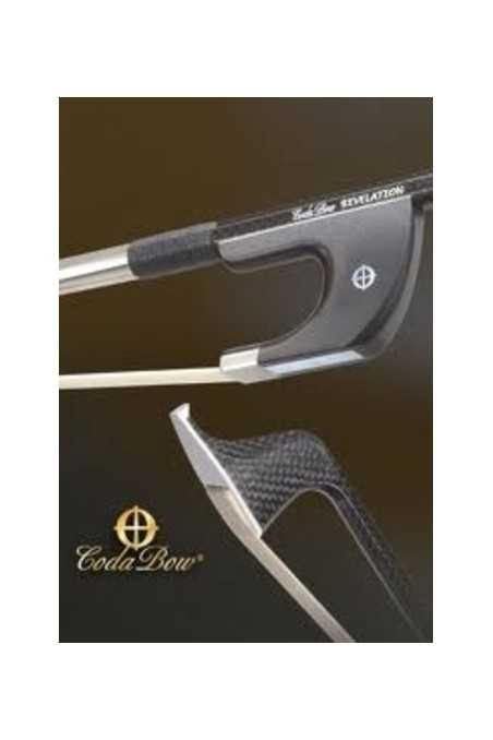 Coda Diamond Revelation German Style Bass bow