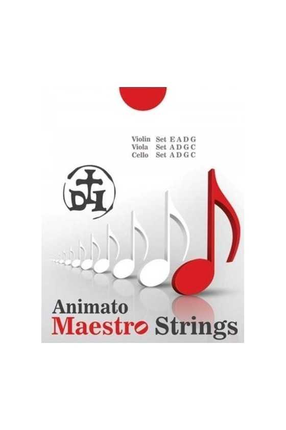 Maestro Violin Strings Set