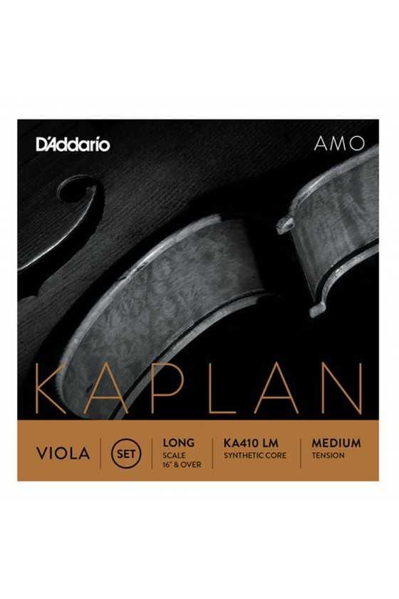 Kaplan Amo Viola String Set