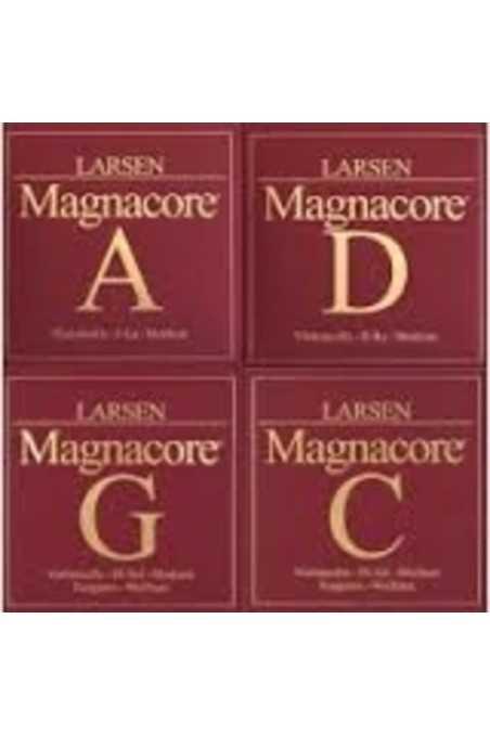 4/4 Larsen Magnacore Cello Strings Set