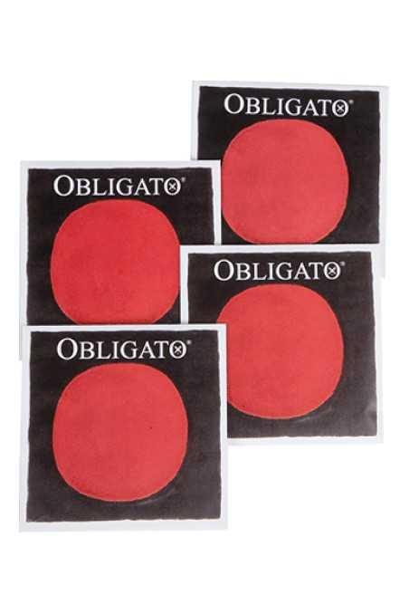 4/4 Obligato Cello String Set